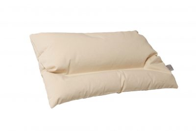 Buckwheat Hull Pillow (neutral).BuckwheatShop.com