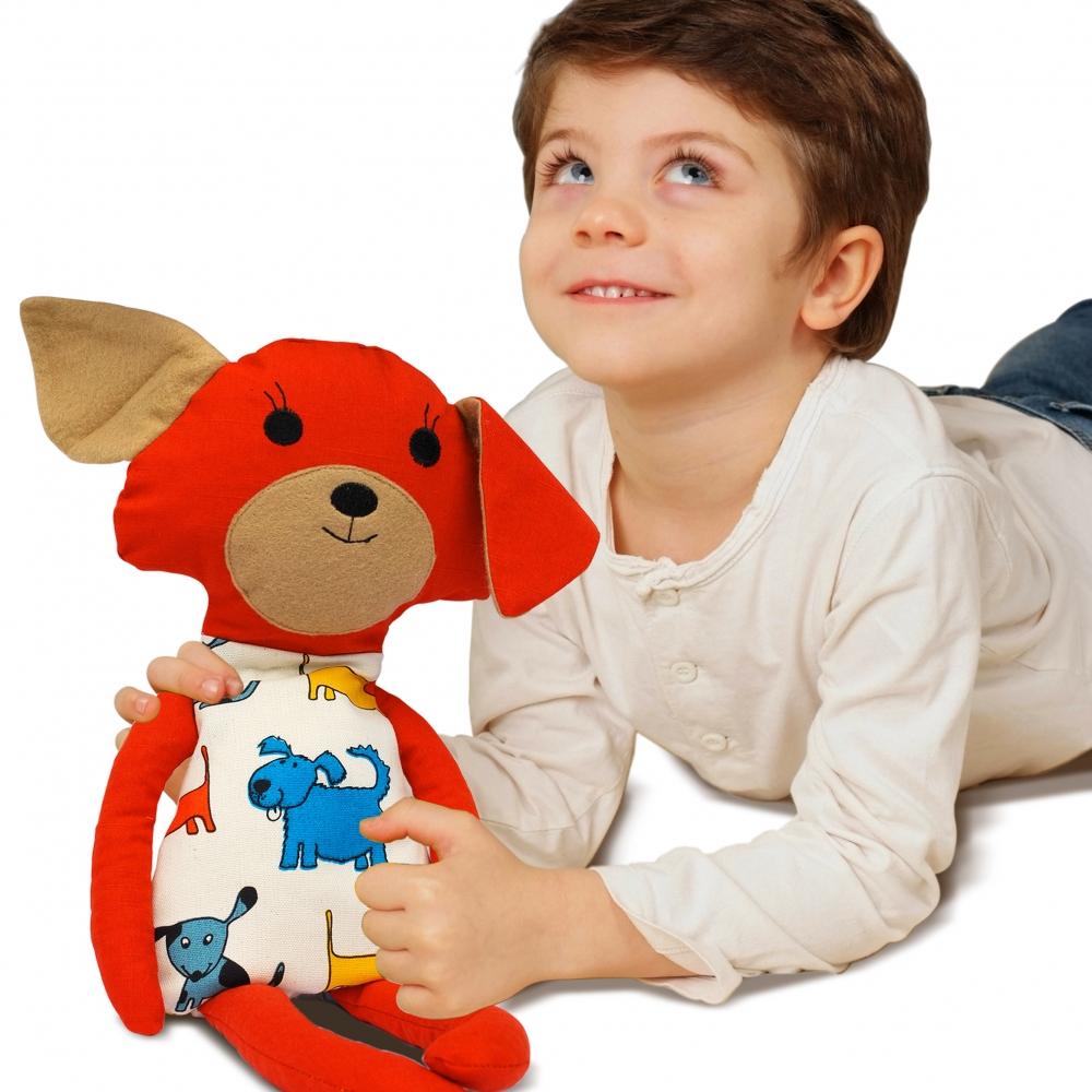Buckwheat Hull Toy – Dog