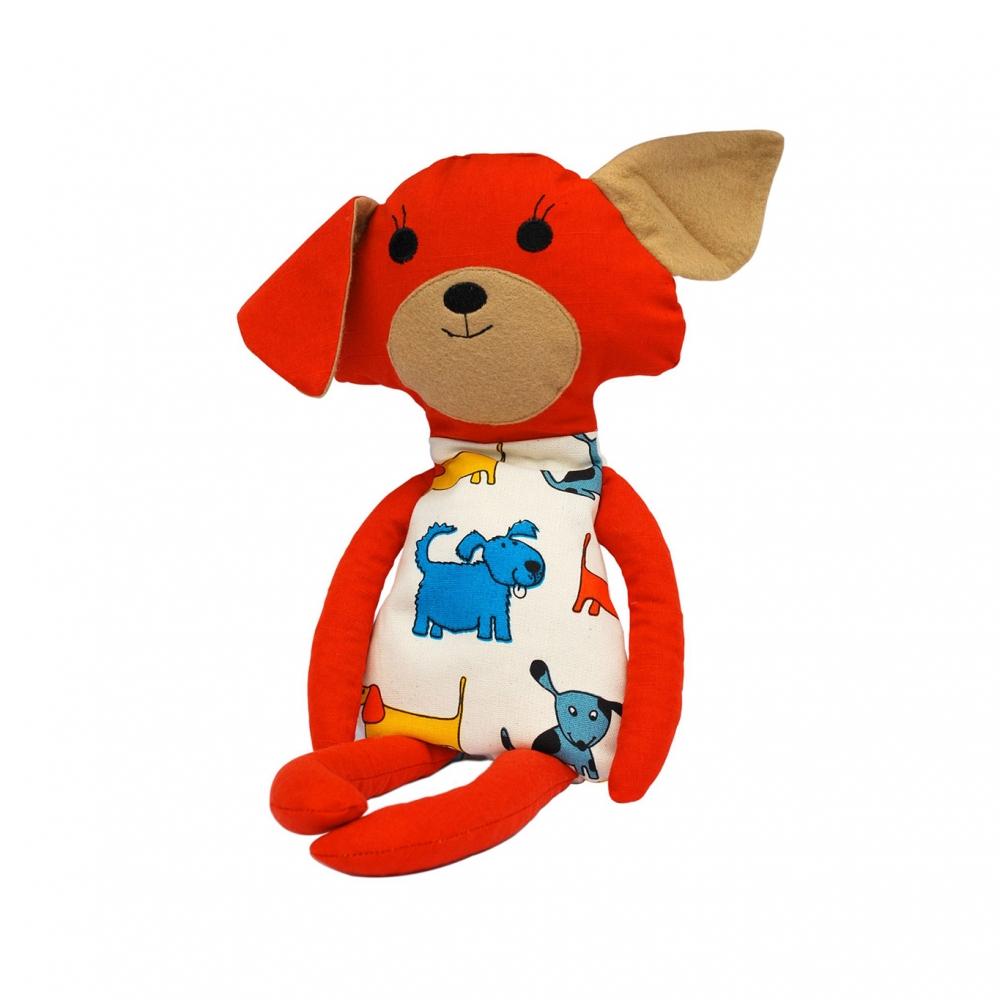 Buckwheat Hull Toy - Dog