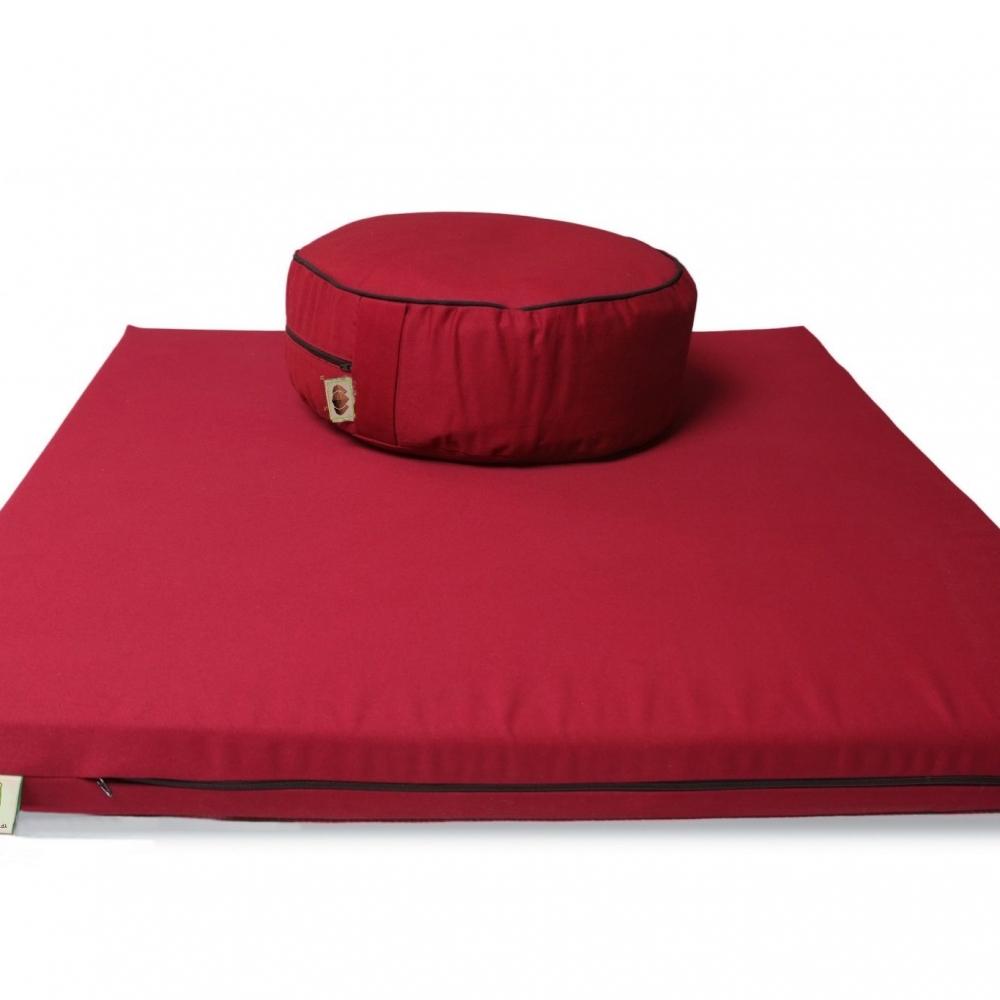 Buckwheat Hull Floor Cushion and Meditation Mat