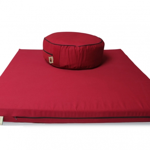 Buckwheat Hull Floor Cushion and Meditation Mat