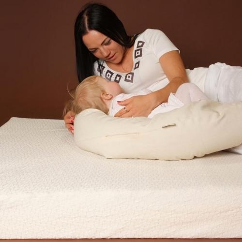 Buckwheat Hull Breastfeeding Pillow